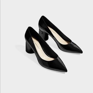 Zara pointed toe heel